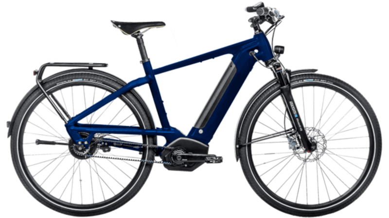Ibex E-Bike with mudguards and lighting