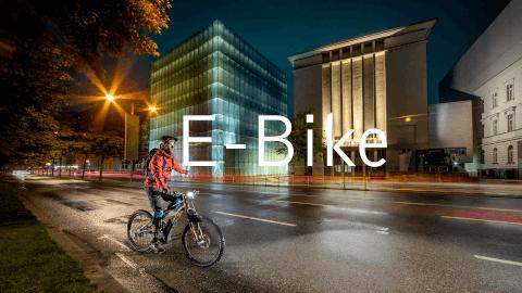 graphischer bildlink menu e-bike